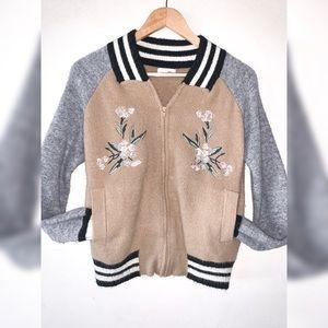Jackets & Blazers - Varsity Zip up Sweater